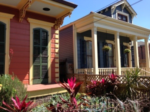 The amazing adorableness of these house is only one of the myriad of reasons I want to live in New Orleans.